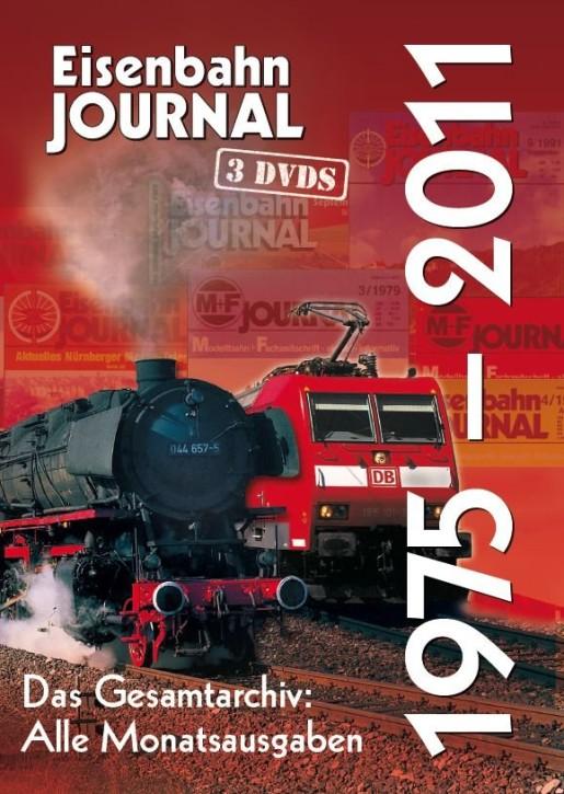 DVD: Eisenbahn-Journal. Das Gesamtarchiv 1975-2011