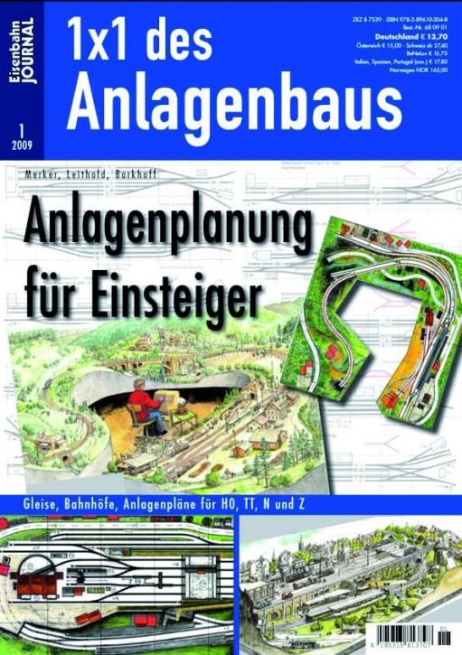 Eisenbahn-Journal: 1x1 des Anlagenbaus. Anlagenplanung für Einsteiger