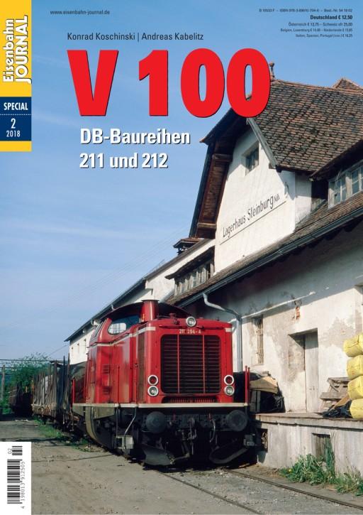 Eisenbahn Journal Special 2-2018: V 100. DB-Baureihen 211 und 212