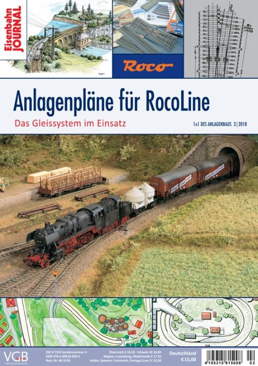 Eisenbahn Journal 1x1 des Anlagenbaus 3-2018: Anlagenpläne für RocoLine. Das Gleissystem im Einsatz