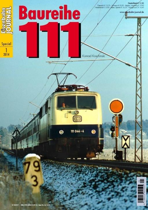 Eisenbahn Journal Special 1-2014: Baureihe 111