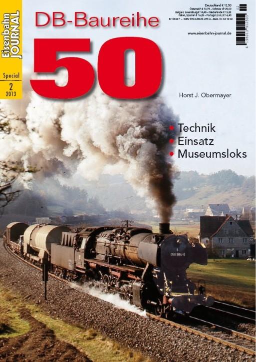 Eisenbahn Journal Special 2-2013: DB-Baureihe 50. Technik, Einsatz, Museumsloks