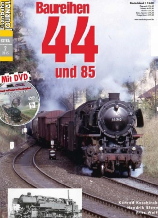 Eisenbahn Journal Extra 2-2015: Baureihen 44 und 85