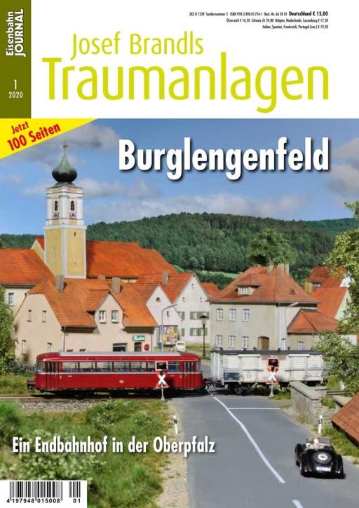 Eisenbahn Journal: Josef Brandls Traumanlagen. Burglengenfeld. Ein Nebenbahnendpunkt in der Oberpfalz