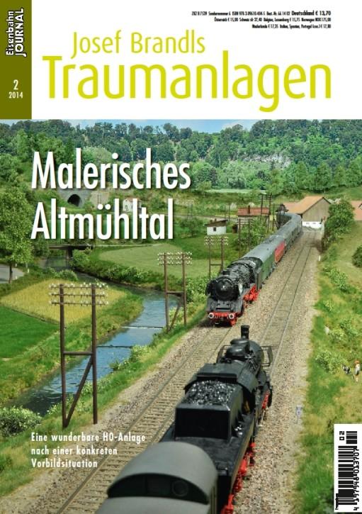 Eisenbahn Journal. Josef Brandls Traumanlagen: Malerisches Altmühltal. Eine wunderbare H0-Anlage nach einer konkreten Vorbildsituation