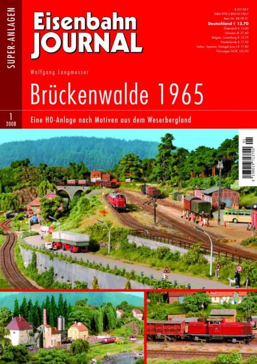 Eisenbahn-Journal Super-Anlagen: Brückenwalde 1965