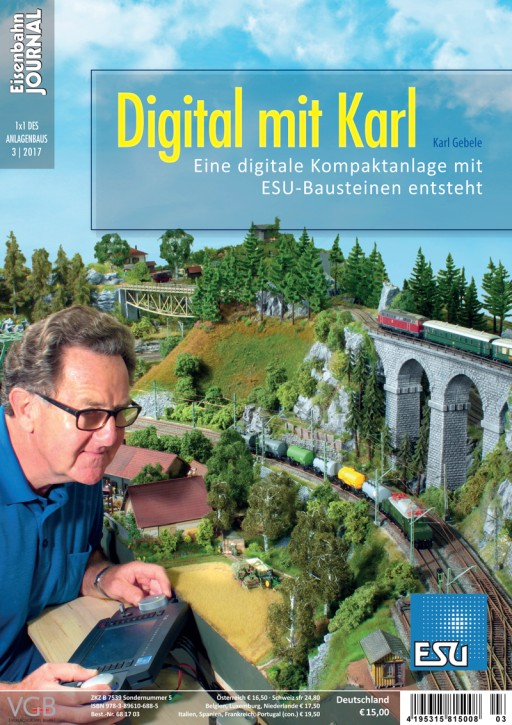 Eisenbahn Journal 1x1 des Anlagenbaus: Digital mit Karl. Eine Kompaktanlage entsteht - Planung, Bau, Steuerung