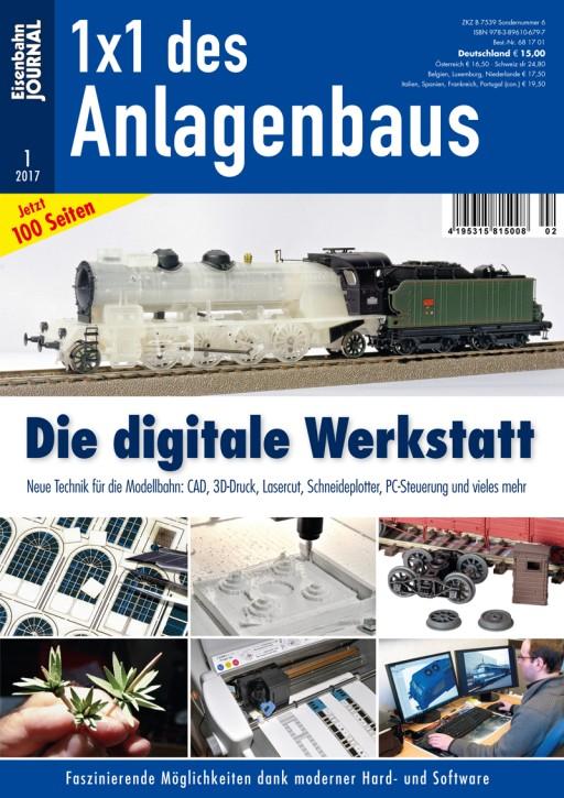 Eisenbahn Journal 1x1 des Anlagenbaus: Die digitale Werkstatt