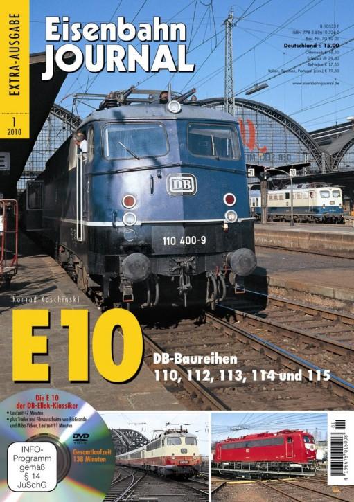 Eisenbahn Journal Extra: DB-Klassiker E 10