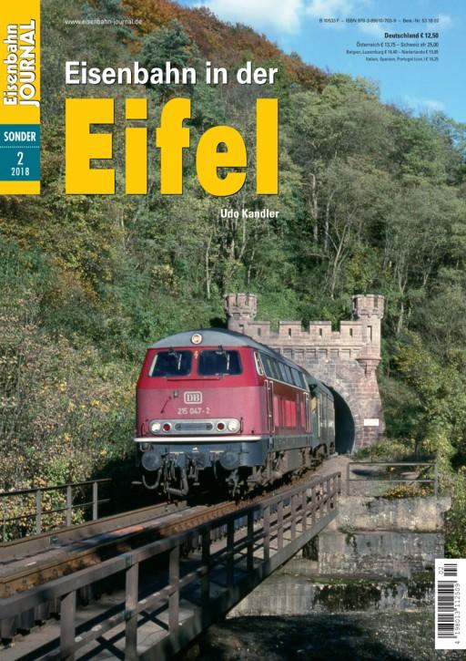 Eisenbahn Journal Sonderausgabe 2-2018: Eisenbahn in der Eifel. Udo Kandler