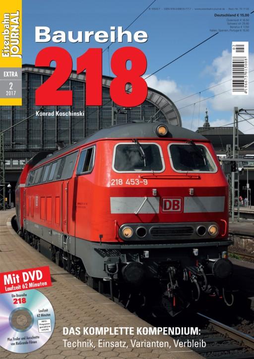 Eisenbahn Journal Extra 2-2017: Baureihe 218