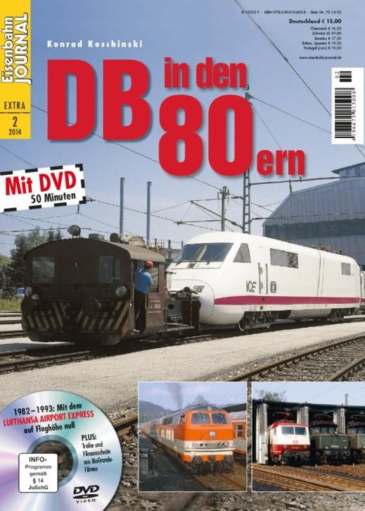 Eisenbahn Journal Extra 2-2014: DB in den 80ern