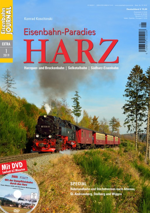 Eisenbahn Journal Extra 1-2019: Eisenbahn-Paradies Harz