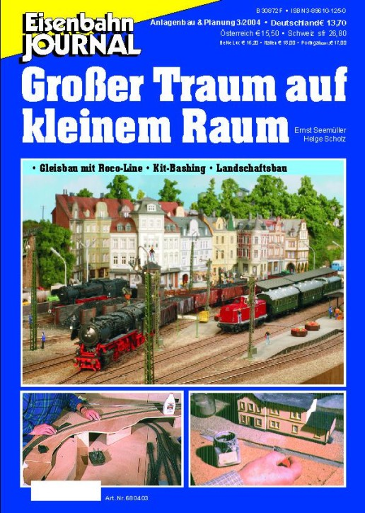 Eisenbahn-Journal: Großer Traum auf kleinem Raum