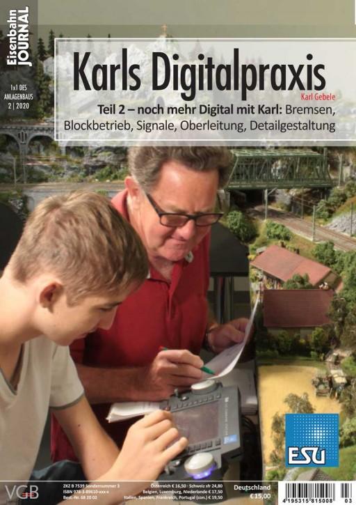 Eisenbahn Journal 1x1 des Anlagenbaus 2-2020: Karls Digitalpraxis Teil 2