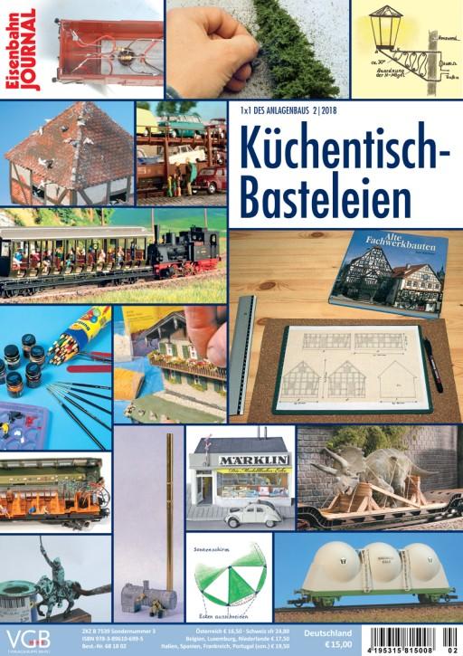Eisenbahn-Journal 1x1 des Anlagenbaus 2-2018: Küchentisch-Basteleien