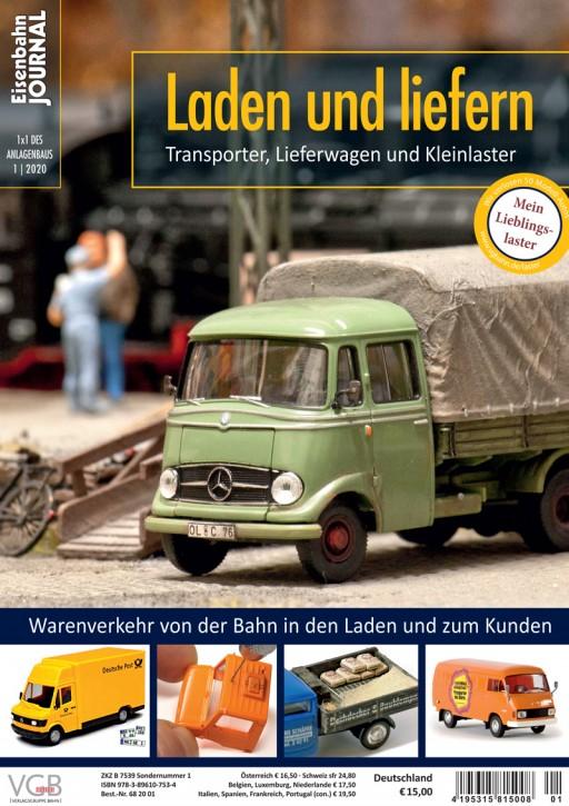 Eisenbahn Journal 1x1 des Anlagenbaus: Laden und liefern. Transporter, Lieferwagen und Kleinlaster