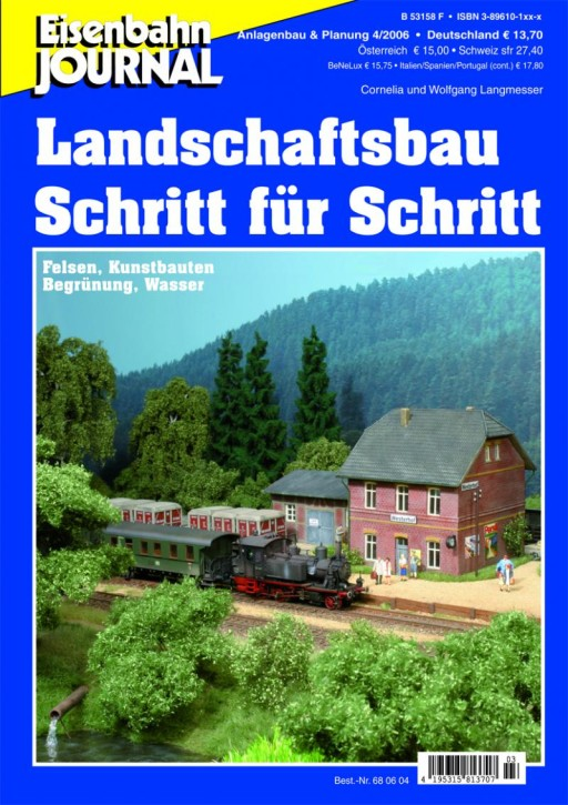 Eisenbahn-Journal: Landschaftsbau Schritt für Schritt