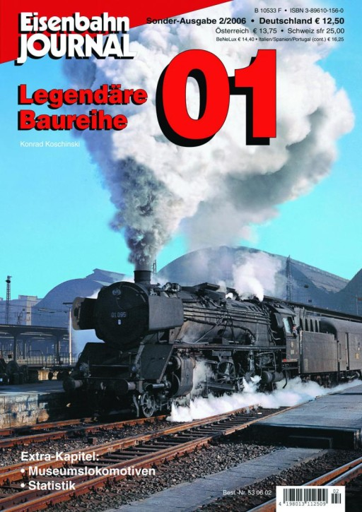 Eisenbahn Journal: Legendäre Baureihe 01