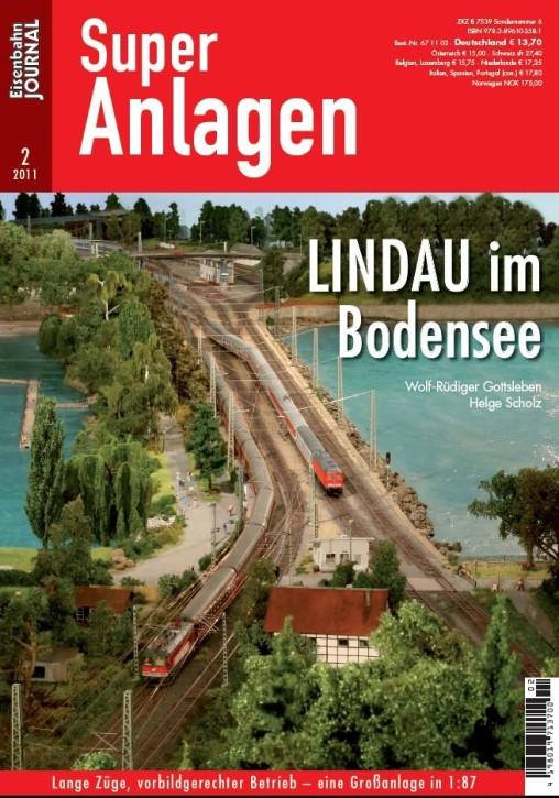 Eisenbahn Journal Super-Anlagen: Lindau im Bodensee. Lange Züge, vorbildgerechter Betrieb – eine Großanlage in 1:87