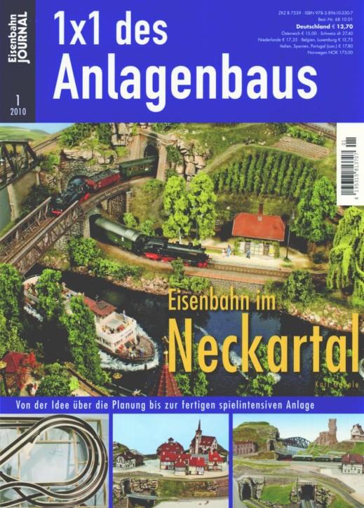 Eisenbahn-Journal: 1x1 des Anlagenbaus. Eisenbahn im Neckartal