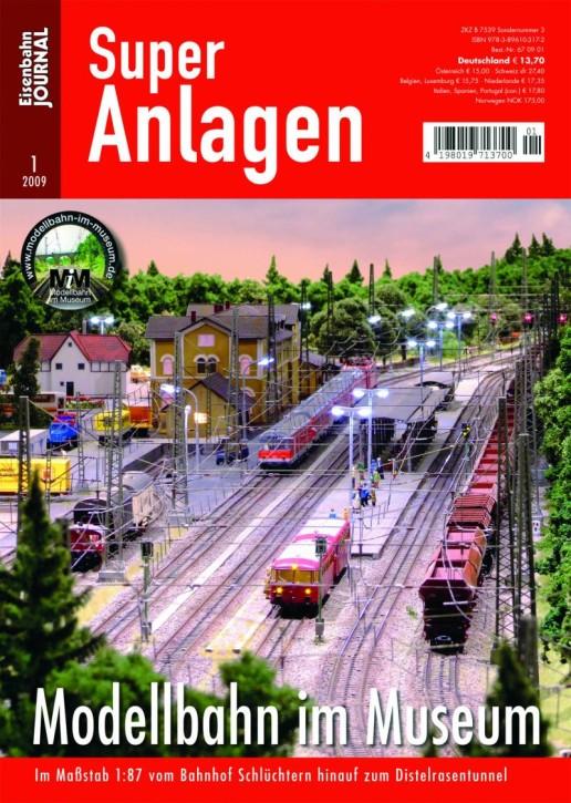 Eisenbahn-Journal Super-Anlagen: Modellbahn im Museum