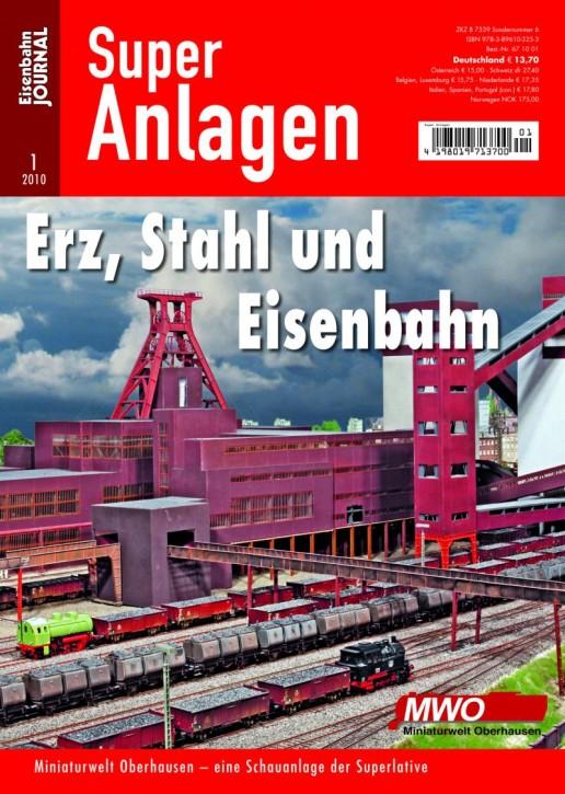 Eisenbahn-Journal Super-Anlagen: Erz, Stahl und Eisenbahn