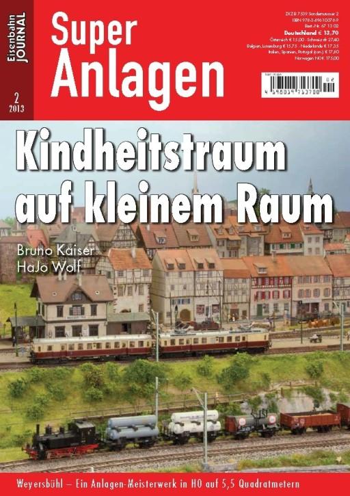 Eisenbahn Journal Super-Anlage 2-2013: Kindheitstraum auf kleinem Raum
