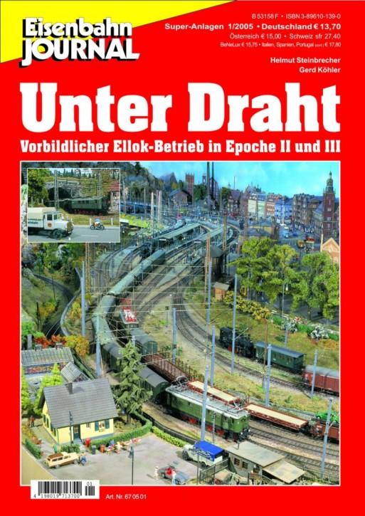 Eisenbahn-Journal Super-Anlagen: Unter Draht