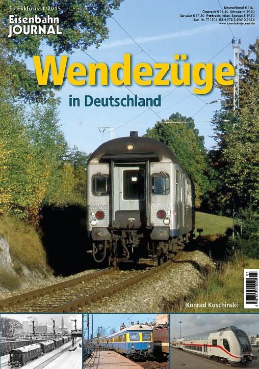 Eisenbahn Journal Exklusiv 1-2015: Wendezüge in Deutschland