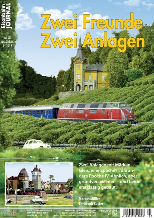 Eisenbahn Journal 1x1 des Anlagenbaus: Zwei Freunde – zwei Anlagen