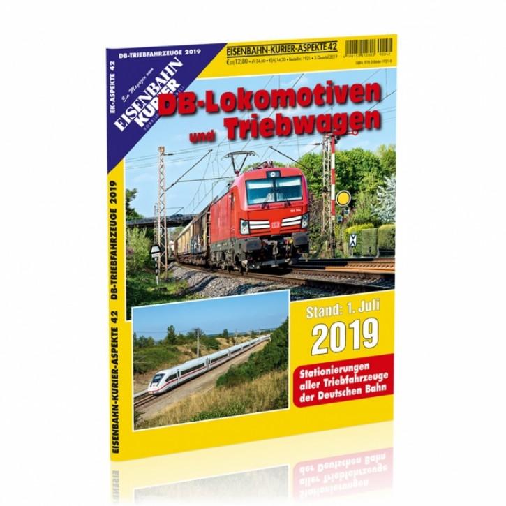 Eisenbahn Kurier Aspekte 42: DB-Lokomotiven und Triebwagen Stand 1. Juli 2019