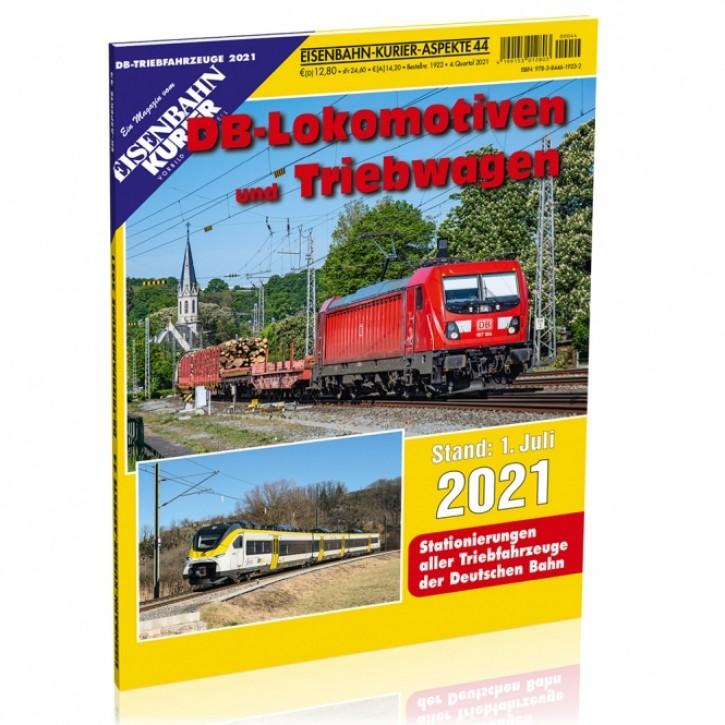 Eisenbahn-Kurier Aspekte 44: DB-Lokomotiven und -Triebwagen 2021