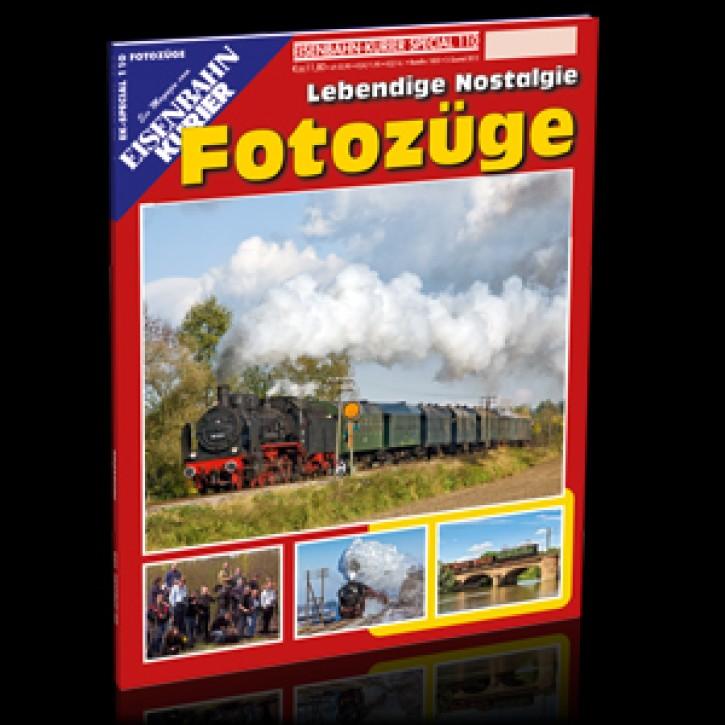 Eisenbahnkurier-Special 110: Fotozüge. Lebendige Nostalgie
