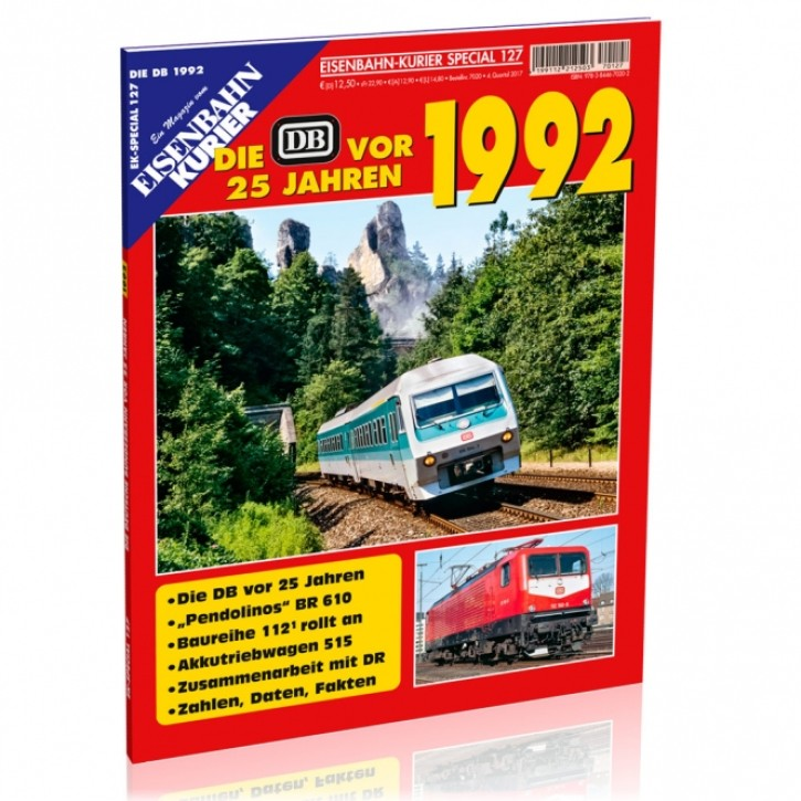 Eisenbahn-Kurier Special 127: Die DB vor 25 Jahren - 1992