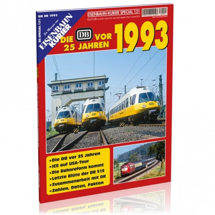 Eisenbahn-Kurier Special 131: Die DB vor 25 Jahren - 1993