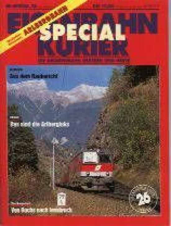 Eisenbahnkurier-Special 26: Die Arlbergbahn
