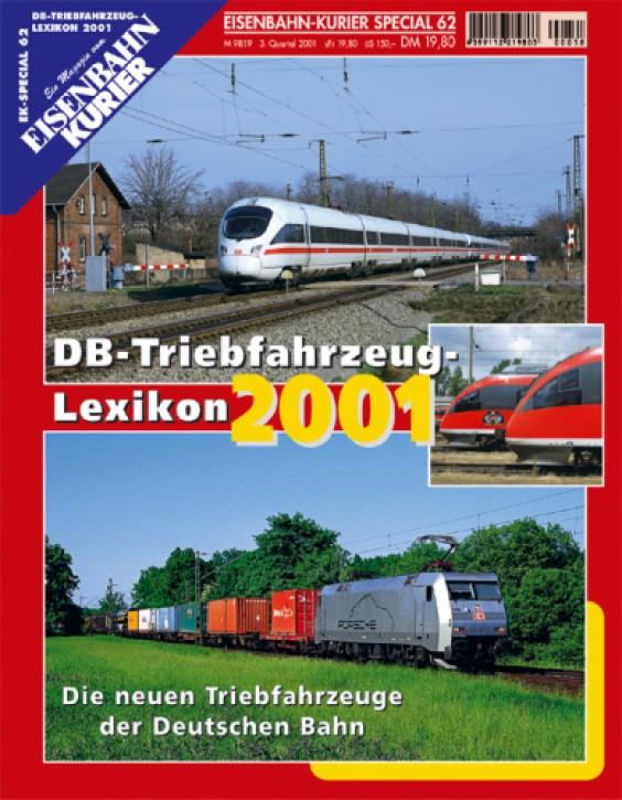 Eisenbahnkurier-Special 62: DB-Triebfahrzeug-Lexikon 2001