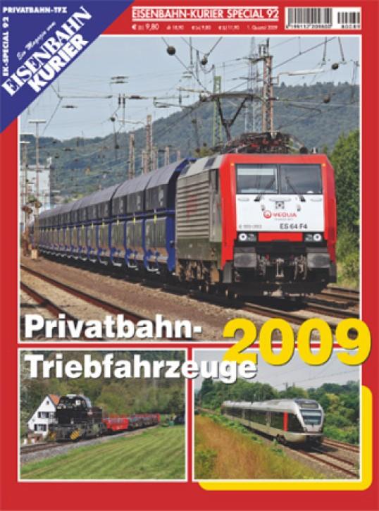 Eisenbahnkurier-Special 92: Privatbahn-Triebfahrzeuge 2009