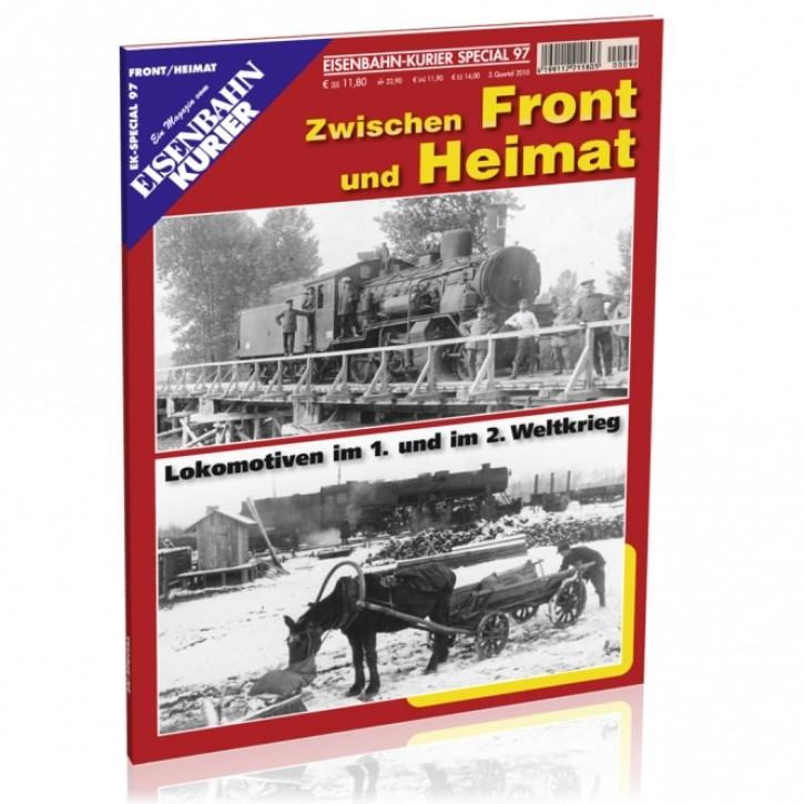 Eisenbahnkurier-Special 97: Zwischen Front und Heimat