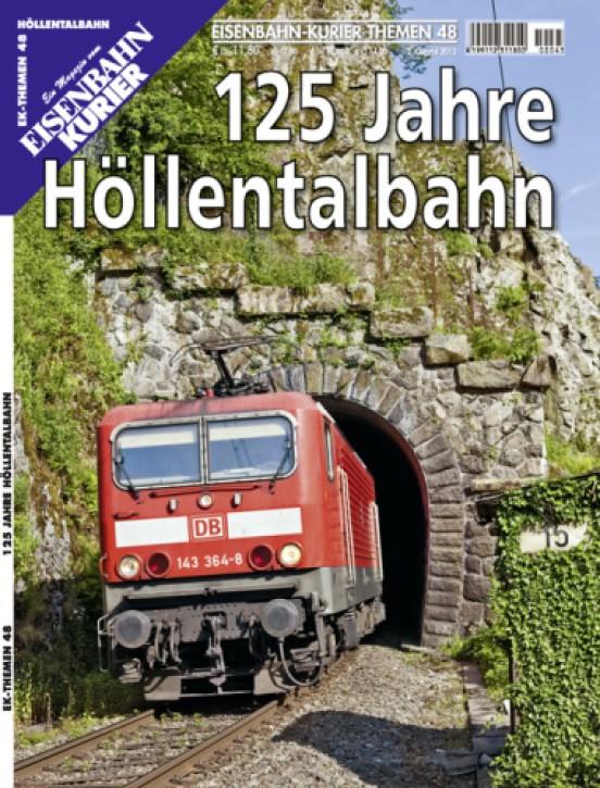 Eisenbahnkurier-Themen 48: 125 Jahre Höllentalbahn