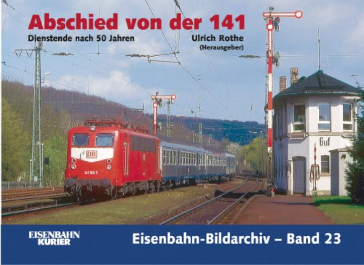 Eisenbahn-Bildarchiv 23. Abschied von der 141. Dienstende nach 50 Jahren. Ulrich Rothe