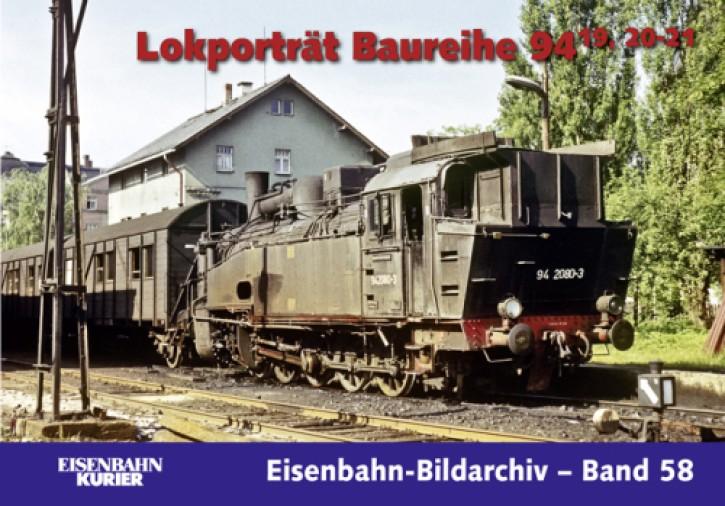 Eisenbahn-Bildarchiv 57. Lokporträt Baureihe 94.19, 20-21