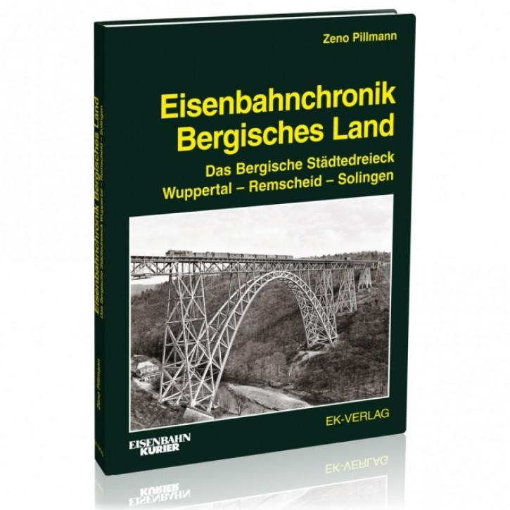Eisenbahnchronik Bergisches Land. Das Bergische Städtedreieck Wuppertal – Remscheid – Solingen. Zeno Pillmann