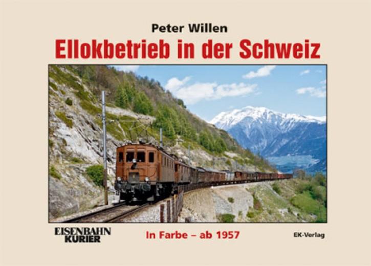 Ellokbetrieb in der Schweiz in Farbe ab 1957. Peter Willen