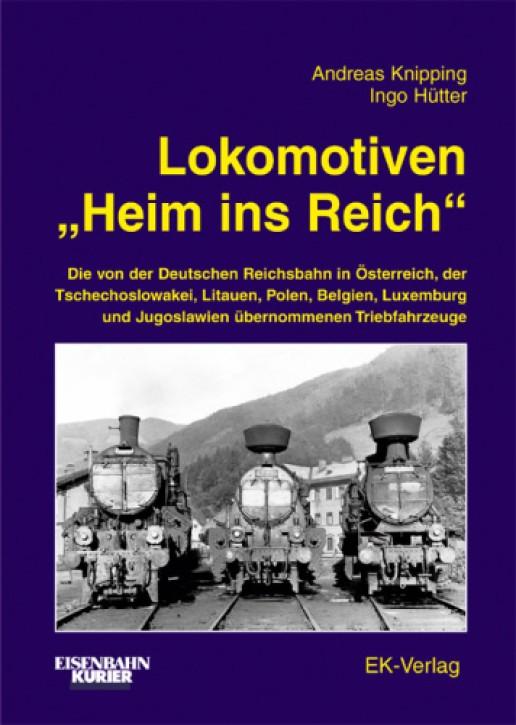 """Lokomotiven """"Heim ins Reich"""". Andreas Knipping, Ingo Hütter & Hansjürgen Wenzel"""