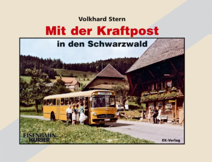 Mit der Kraftpost in den Schwarzwald. Volkhard Stern