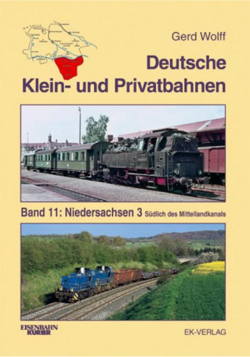 Deutsche Klein- und Privatbahnen Band 11: Niedersachsen 3. Gerd Wolff