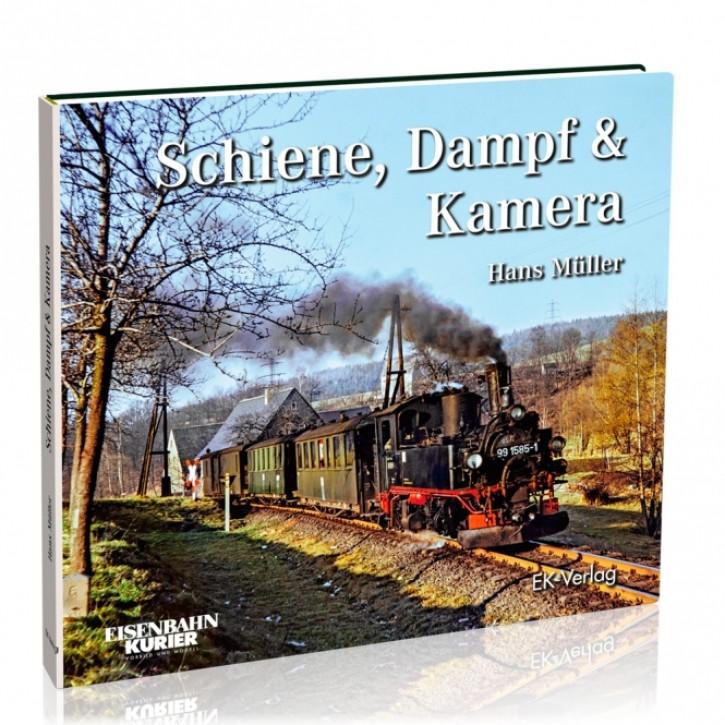 Schiene, Dampf und Kamera. Die letzten Dampflokomotiven in der DDR. Hans Müller