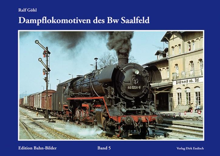 Edition Bahn-Bilder Band 5: Dampflokomotiven des Bw Saalfeld. Ralf Göhl